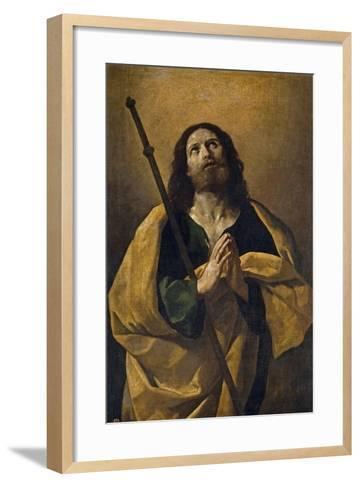 The Apostle Santiago, the Elder, 1618-1623, Italian School-Guido Reni-Framed Art Print