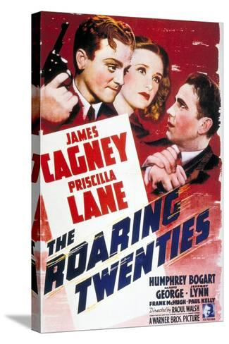 """The World Moves On, 1939, """"The Roaring Twenties"""" Directed by Raoul Walsh--Stretched Canvas Print"""