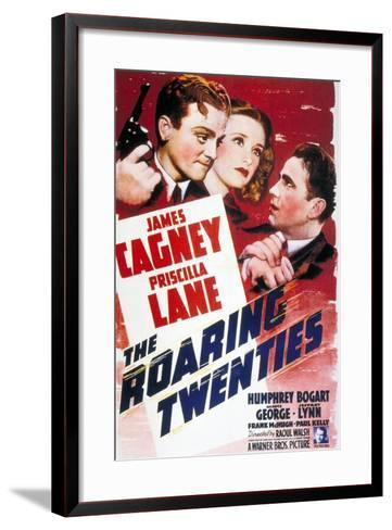 """The World Moves On, 1939, """"The Roaring Twenties"""" Directed by Raoul Walsh--Framed Art Print"""