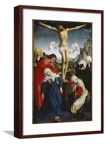 Crucifixion, Ca. 1510, Flemish School-Roger Van der weyden-Framed Art Print