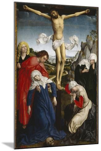 Crucifixion, Ca. 1510, Flemish School-Roger Van der weyden-Mounted Giclee Print