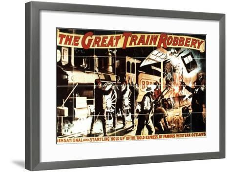 The Great Train Robbery, 1903, Directed by Edwin S. Porter--Framed Art Print