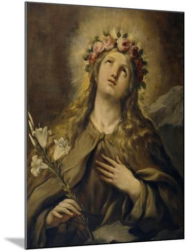Saint Rosalia, Ca. 1697, Italian School-Luca Giordano-Mounted Giclee Print