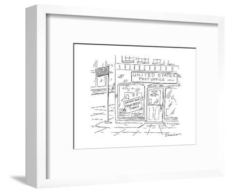 United States Post OfficeOrder your Prom Dress Today - Cartoon-Danny Shanahan-Framed Art Print