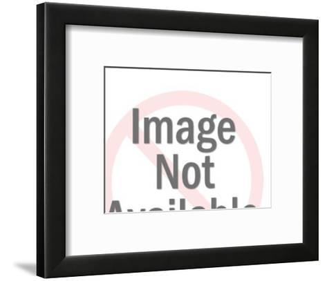 Piggy Bank with $5,000 on it-Pop Ink - CSA Images-Framed Art Print