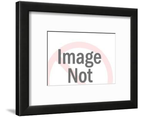 Man Knocking on Buyer's Door-Pop Ink - CSA Images-Framed Art Print