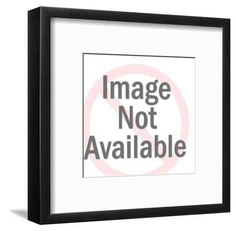 Braying Horse-Pop Ink - CSA Images-Framed Art Print