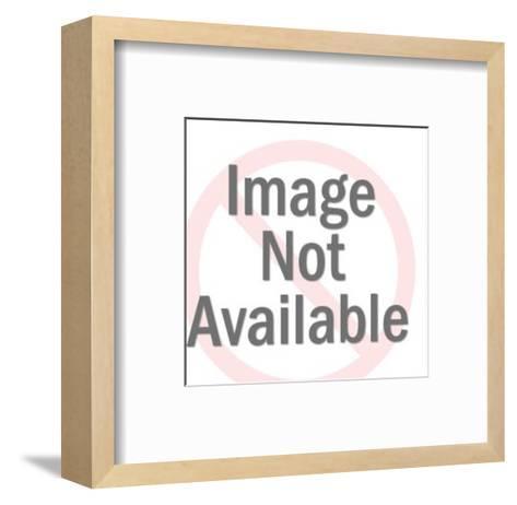 Blank Award Ribbon-Pop Ink - CSA Images-Framed Art Print