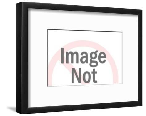 Man and Woman Looking at Convertible-Pop Ink - CSA Images-Framed Art Print