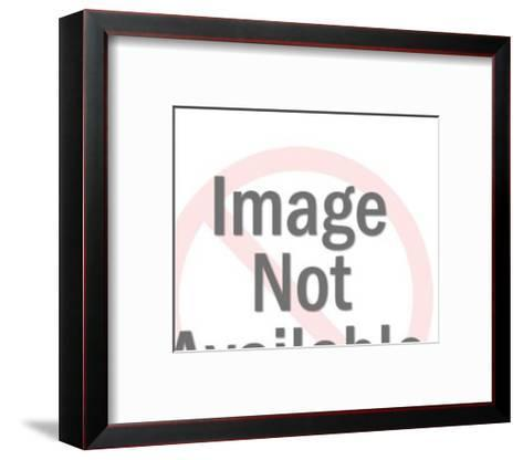 Bird in dive-Pop Ink - CSA Images-Framed Art Print
