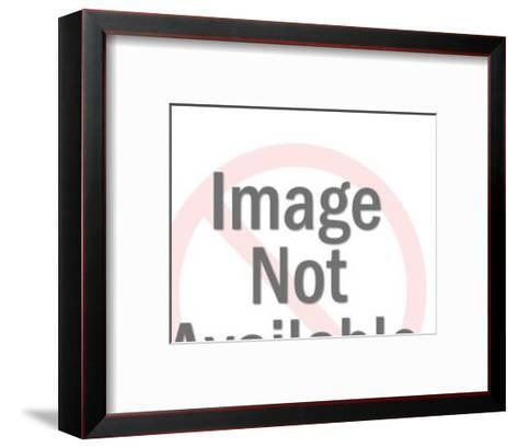 Smiling Cow-Pop Ink - CSA Images-Framed Art Print