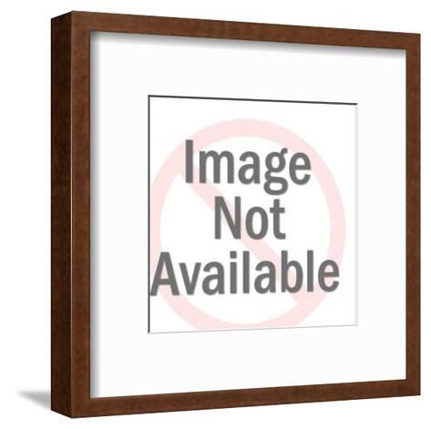 Two Men-Pop Ink - CSA Images-Framed Art Print