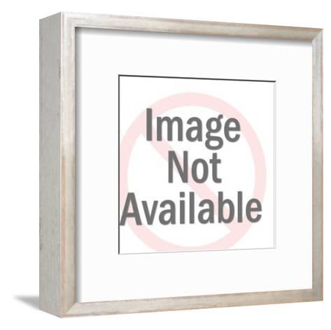 Old Cow-Pop Ink - CSA Images-Framed Art Print