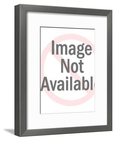 Businessman Running-Pop Ink - CSA Images-Framed Art Print