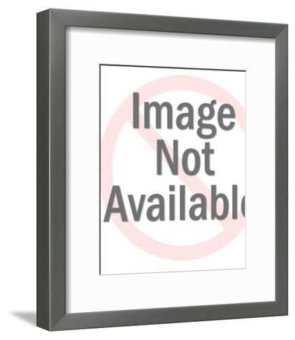 Woman Getting Haircut-Pop Ink - CSA Images-Framed Art Print