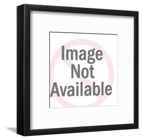Two Men Laughing-Pop Ink - CSA Images-Framed Art Print