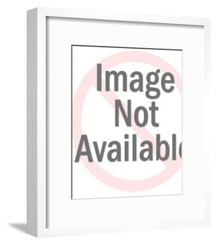 Smiling Woman-Pop Ink - CSA Images-Framed Art Print