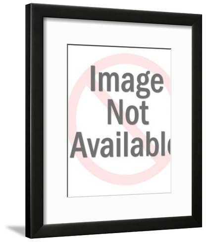 Winking Globe Man-Pop Ink - CSA Images-Framed Art Print