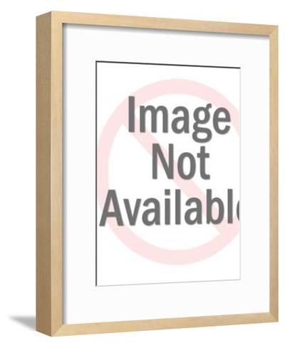 Pineapple Man-Pop Ink - CSA Images-Framed Art Print