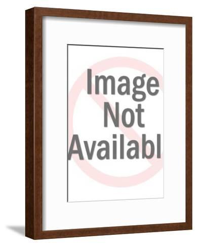 Graduate Block Lecturing-Pop Ink - CSA Images-Framed Art Print
