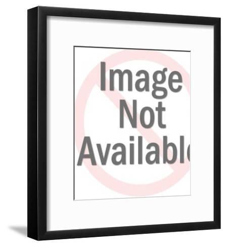 Circus Ringleader Bowing-Pop Ink - CSA Images-Framed Art Print