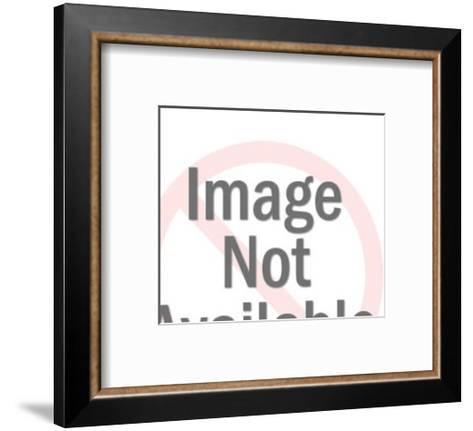 Man Eating-Pop Ink - CSA Images-Framed Art Print