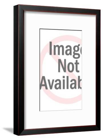 Man Gesturing With Arms-Pop Ink - CSA Images-Framed Art Print