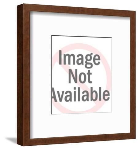 Man in Formal Tuxedo Smoking-Pop Ink - CSA Images-Framed Art Print
