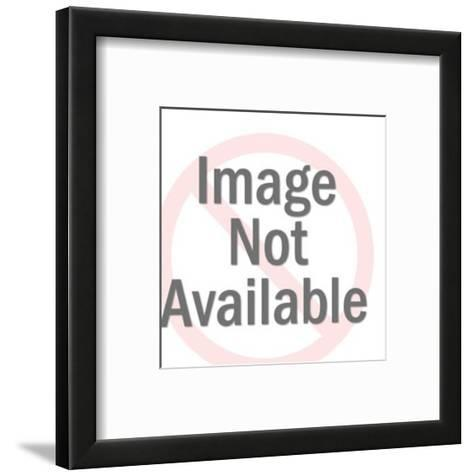 Man and Woman Dancing on Record-Pop Ink - CSA Images-Framed Art Print
