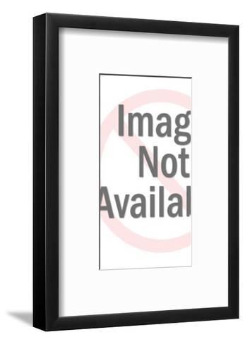 Faceless Bride and Groom-Pop Ink - CSA Images-Framed Art Print