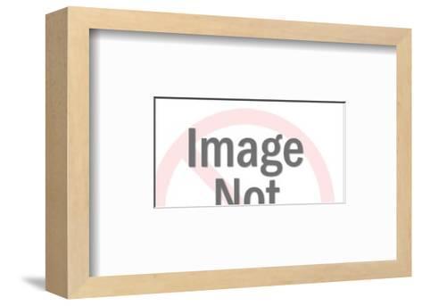 Two Men Reading-Pop Ink - CSA Images-Framed Art Print