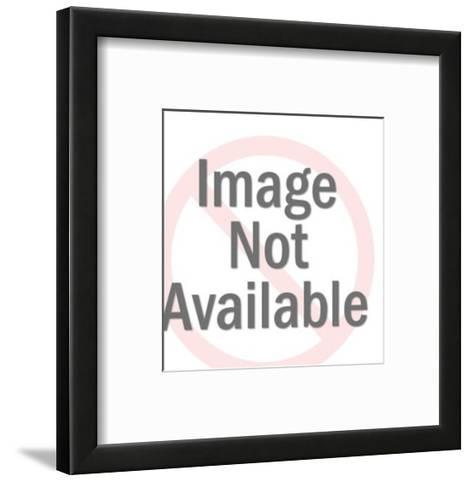 Angry Man-Pop Ink - CSA Images-Framed Art Print