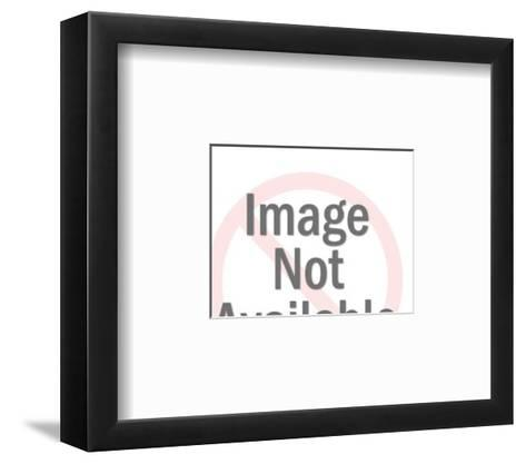 Jeep-Pop Ink - CSA Images-Framed Art Print