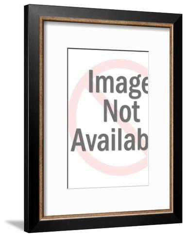 Woman Holding Photos of Her Formerly Fat Self-Pop Ink - CSA Images-Framed Art Print