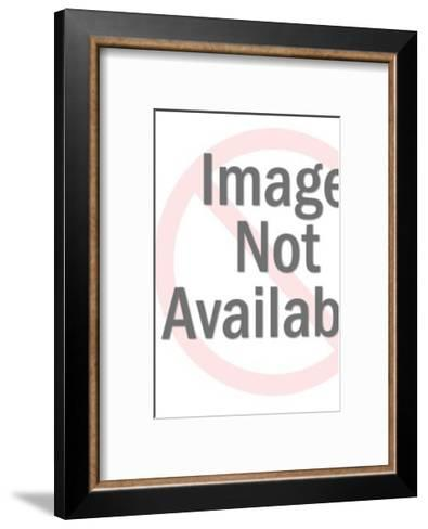 Magician with Rabbit in Hat-Pop Ink - CSA Images-Framed Art Print
