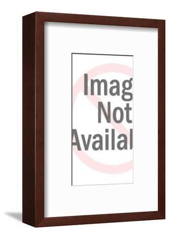 Man in Shadow of Former Fat Self-Pop Ink - CSA Images-Framed Art Print