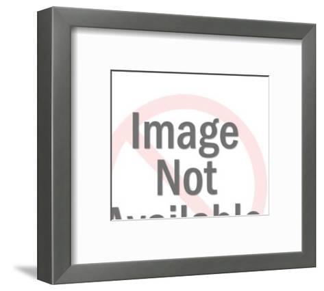 Winking Santa Claus-Pop Ink - CSA Images-Framed Art Print