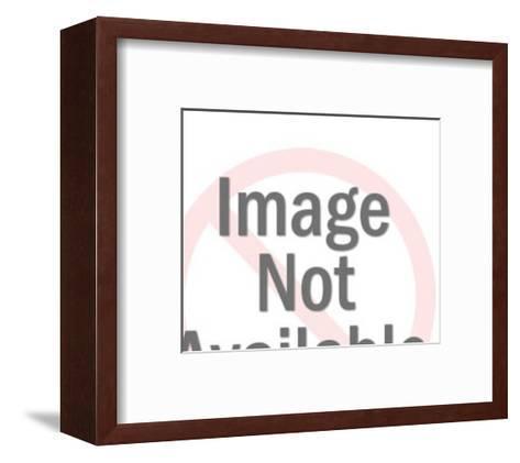 Angel Holding Large Dollar Sign-Pop Ink - CSA Images-Framed Art Print