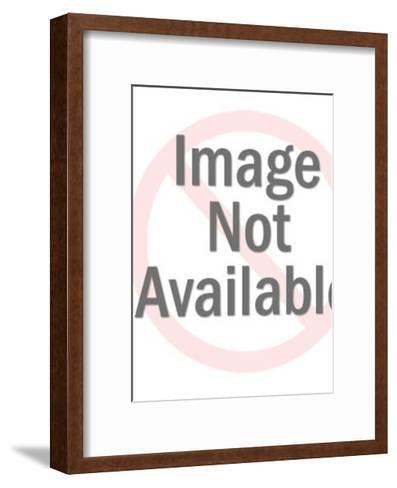 Smiling Man in Uniform-Pop Ink - CSA Images-Framed Art Print