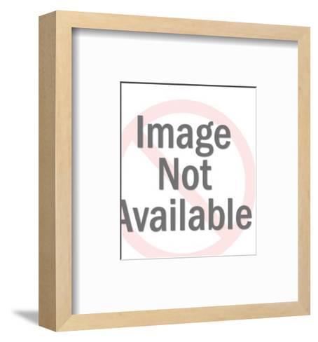 Money is King-Pop Ink - CSA Images-Framed Art Print
