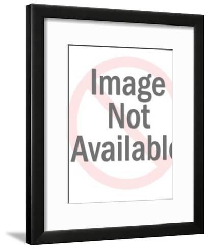 Little Boy Praying on Knees-Pop Ink - CSA Images-Framed Art Print
