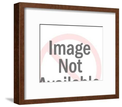 Man Opening Bank Vault-Pop Ink - CSA Images-Framed Art Print