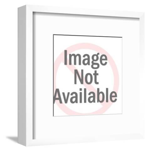 1 2 Robot-Pop Ink - CSA Images-Framed Art Print