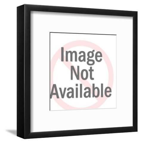 Woman Placing Crown on Her Head-Pop Ink - CSA Images-Framed Art Print