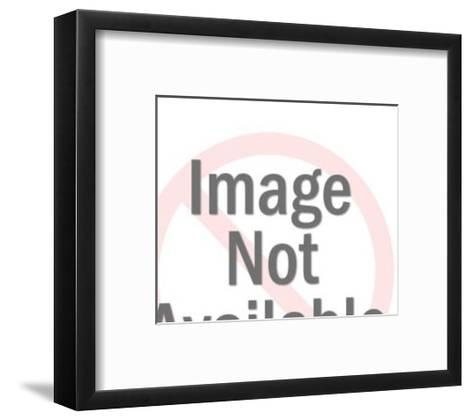 Lighthouse-Pop Ink - CSA Images-Framed Art Print