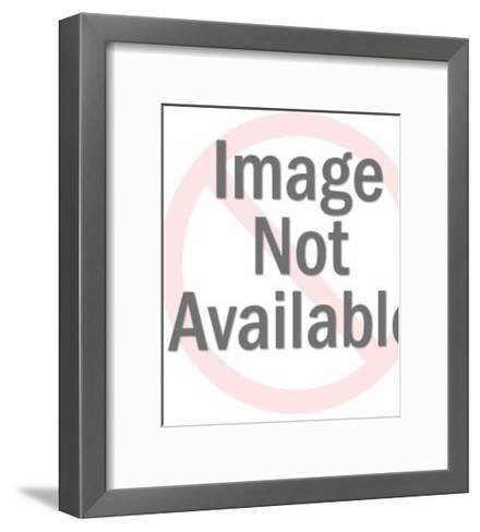 Man in Crown is King Dad-Pop Ink - CSA Images-Framed Art Print