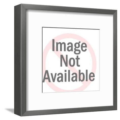 Oh...John You're Wonderful Couple Embracing-Pop Ink - CSA Images-Framed Art Print