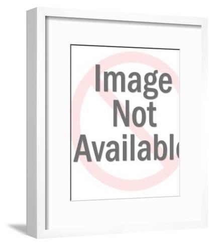 Female Alien on Telephone-Pop Ink - CSA Images-Framed Art Print