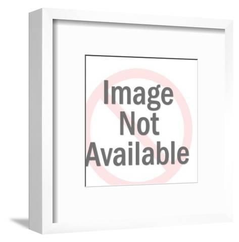 Fishing Reel-Pop Ink - CSA Images-Framed Art Print