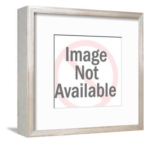 Bald Eagle on USA Shield-Pop Ink - CSA Images-Framed Art Print